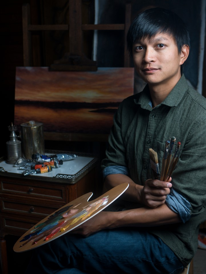 duy tran artiste peintre biographie photo