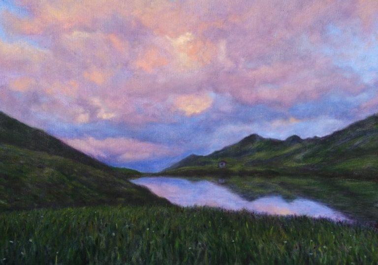 Le lac de Bachalpsee