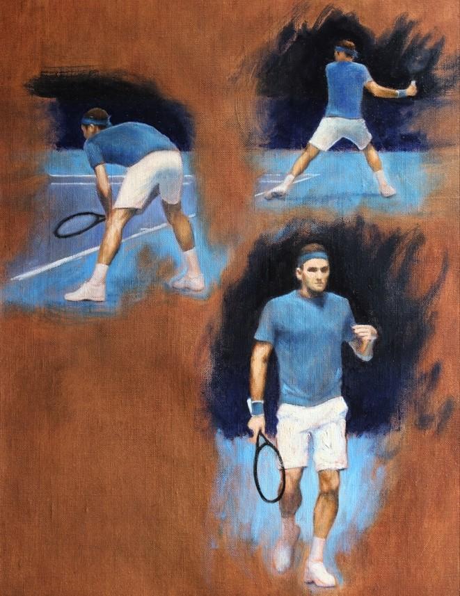 Federer à l'O2 Arena